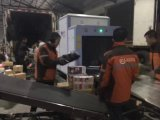 X systèmes de sécurité de rayon pour la grande valise, inspection de bagage