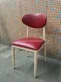 Muebles de madera del Pub del café del hierro del grano que cenan la silla (JY-R40)