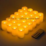 Luz sin llama con pilas del té de Flickery LED de la venta caliente para la venta al por mayor