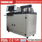 Carta automática de la máquina del doblador de la carta de la muestra que hace bobinas con el acero de aluminio