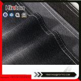 Tecido de malha de confecção de malha de cor preta 260GSM para Lady Coat