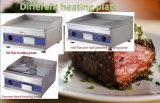 certificado eléctrico comercial del Ce del acero inoxidable del Hotplate de la cocina de la encimera de la plancha de los 60cm