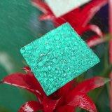 Hoja sólida grabada policarbonato impermeable para el espesor 2m m