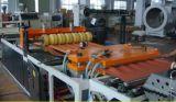Ligne ondulée multicouche simple d'extrusion de feuille de PVC