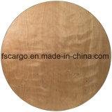 72 '' überzogene fertige Oberseite des rundes Holz-faltende Bankett-Tisch-W/Clear (CGT1612)