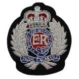 Emblema militar do bordado da segurança do exército do OEM