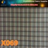 ファブリック(X061-9)を並べるポリエステル小切手のプロンプトの商品
