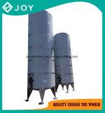 Aço inoxidável do tipo vertical do tanque de armazenagem de leite/sumos de frutos de Água/bebidas