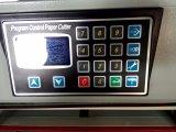 Fabricante profesional programa de control de cortador de papel de papel de corte eléctrico para la máquina (WD-4806R)