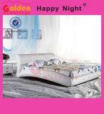 Кровать из белой кожи для продаж G870