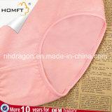 Ropa interior Hip de las chicas jóvenes del color sólido del algodón de la mención Mediados de-Rised