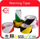 Cinta de PVC amarilla negra del peligro