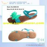 China Belüftung-beiläufige Frauen-Sandelholze, Form-geöffnete Zehe-flippige Dame-Sandelholze