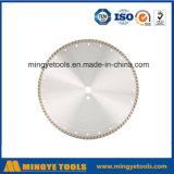 Lámina de sierra de diamante sinterizada de prensa en frío para granito y mármol