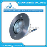 도매 Waterproof Luminaire IP68 12V 9watt LED Recessed Underwater Light