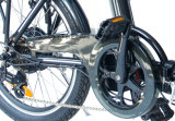 Велосипед города 20 дюймов складной электрический с батареей лития