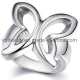 Ee.Uu. de venta Caliente el anillo de acero tamaño bebé joyas