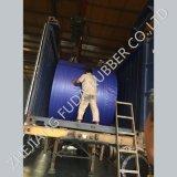 Il nastro trasportatore di gomma, il nastro trasportatore termoresistente, nastro trasportatore resistente al fuoco, lubrifica il nastro trasportatore resistente