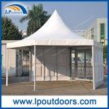 Polygon-Festzelt-Pagode-Zelt Durchmesser-6m im Freienmit ABS Wand