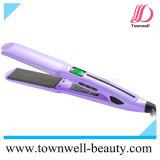 450&deg ; C rapide réchauffent le fer plat de flottement de cheveu imperméable à l'eau de plaques de Mch avec l'écran LCD