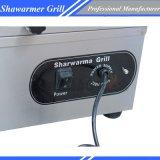 El gas de la máquina máquina de hacer Shawarma Kebab Grill Chz-892