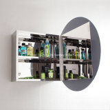 Шкаф микстуры ванной комнаты овального зеркала круга малый