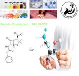 Sal intermedia farmacéutica CAS del sodio de G de la penicilina del polvo de la pureza elevada: 69-57-8