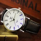 299 het compacte Waterdichte Polshorloge van het Horloge van het Ontwerp Unisex- met Blauw Glas