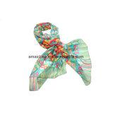 Poliéster imprimió la bufanda teñida (AJM60001232)