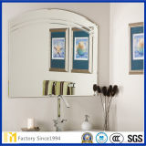 Miroir de 2mm 3mm 4mm 5mm 6mm Bathroor avec Edge Bevel