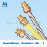 tubo de gas flexible del acero inoxidable 316L