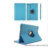 Apple iPad 360 자전 대 손가락으로 튀김 지능적인 PU 가죽 상자를 위한 덮개 케이스