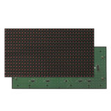 Singolo schermo esterno & Semi-Esterno del modulo della visualizzazione di LED di colore rosso P10