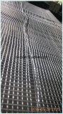 Vetroresina nera Geogrid per la costruzione di strade (30KN*30KN-200KN*120KN)