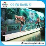 Muestra de interior de la visualización de LED de la pantalla de P3.91 HD para la publicidad del hotel