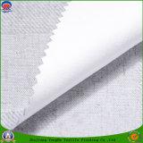 Il poliestere tessuto tessile domestica franco rivestito impermeabilizza il tessuto della tenda di mancanza di corrente elettrica per i ciechi di rullo