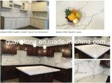 Carrara-QuarzCountertop/Calacatta QuarzCountertop/Quarz-Countertop-/Küche-QuarzCountertops für Schrank-Oberseiten