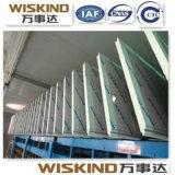 0.6-0.8mm PPGI Breite PU-Zwischenlage-Panel-Wand und Dach des Stahl-50-1000mm