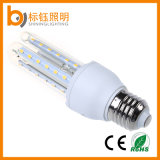 E27 7W Lámpara de iluminación de LED de 90% de ahorro de energía de la bombilla (B22/E27/E14 Base, en forma de 'u' Lampshades)