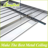 2017 telhas de alumínio impermeáveis do teto suspendido