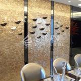Materiale da costruzione madreperlaceo del mosaico delle coperture di Bisazza per la parete