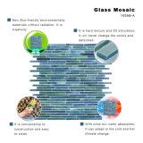 Strati delle mattonelle di mosaico di vetro macchiato per decorativo interno