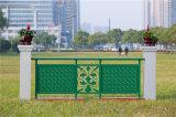 Haohan en acier galvanisé décoratif de haute qualité en alliage d'aluminium Balcon Balustrade 3