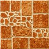 Il materiale da costruzione, il materiale della decorazione, mattonelle di pavimentazione della porcellana, cucina di ceramica copre di tegoli le mattonelle rustiche del pavimento e della parete