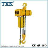Grue de levage de Txk élévateur à chaînes électrique de 5 tonnes avec le treuil de qualité de chariot