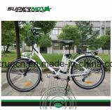 Bicicletta elettrica con il freno Tektro di V