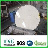 Witte Countertop van het Kwarts van Carrara Kunstmatige
