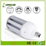 LED Street Light Bulbo IP64 Waterproof LED Corn Bulb E27 Base (adaptador E40 fornecido livremente)