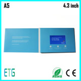 2017 Year Hot Sale 4.3inch, 5 polegadas LCD Business Cards