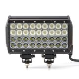 Barra ligera de los vehículos de las piezas de automóvil LED de la linterna 9 de la pulgada 108W del CREE del punto de la inundación del trabajo combinado campo a través de las vigas LED